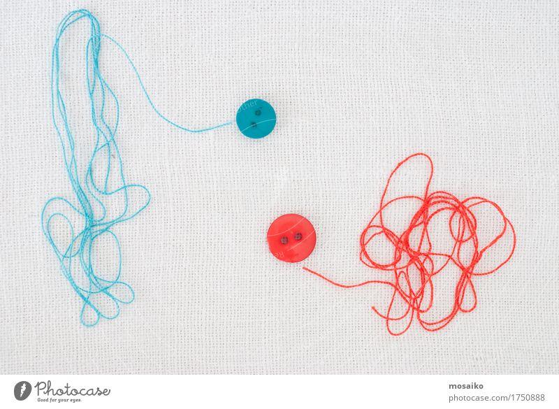 blau weiß rot Stil Mode Arbeit & Erwerbstätigkeit hell Design Freizeit & Hobby Dekoration & Verzierung Kommunizieren Kreativität retro Bekleidung weich Schnur