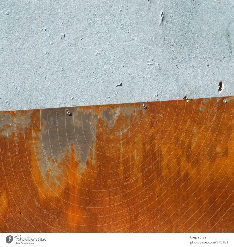 Wand Stein Mauer Zufriedenheit Metall Stahl Stempel