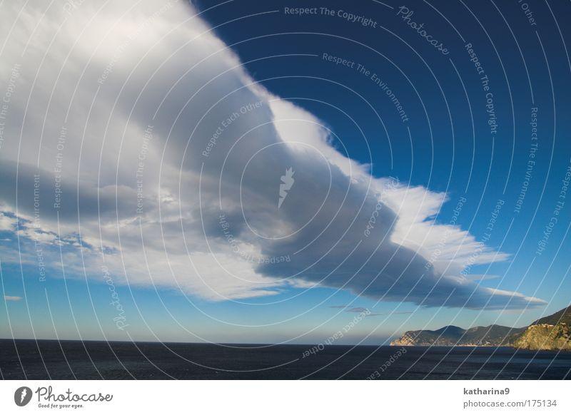 angel highway Natur Wasser blau Sommer Meer Freiheit oben Landschaft Umwelt Stimmung Luft Wind Horizont Felsen fliegen Insel