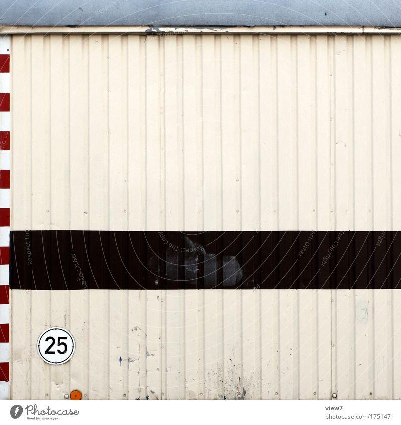 25. alt weiß braun Metall Verkehr Pause Dach Baustelle Ziffern & Zahlen Streifen einzigartig Zeichen Kasten Handwerk Hinweisschild