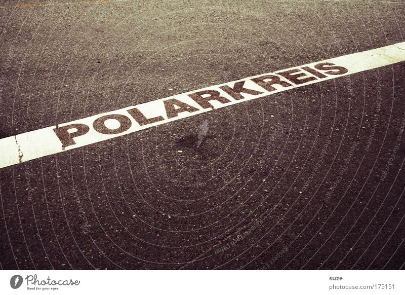 Polarkreis Farbfoto Gedeckte Farben Außenaufnahme abstrakt Menschenleer Textfreiraum oben Textfreiraum unten Hintergrund neutral Tag Kontrast