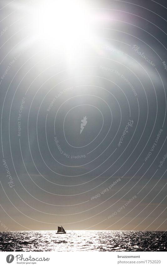 Mare Nostrum Segeln Ferien & Urlaub & Reisen Ausflug Ferne Freiheit Kreuzfahrt Sommer Meer Wassersport Wolkenloser Himmel Sonnenlicht Mittelmeer Schifffahrt