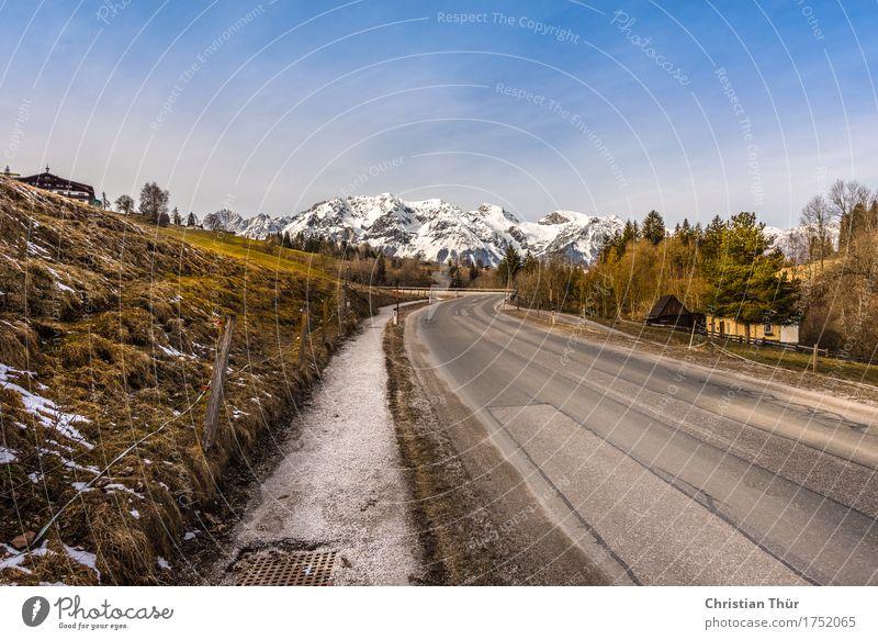 Schladming / Rohrmoos Natur Ferien & Urlaub & Reisen Pflanze Baum Landschaft Erholung Ferne Winter Berge u. Gebirge Umwelt Gras Schnee Freiheit Tourismus