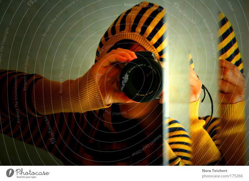 Tigerente :) Mensch Jugendliche Freude Farbe Erwachsene gelb Leben Freiheit Kopf träumen Mode Stimmung wild Energie Design frei