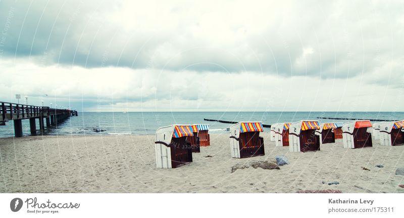 das ist ein weites feld Wasser Meer Sommer Strand Ferien & Urlaub & Reisen Wolken Ferne Leben Erholung Freiheit träumen Sand Landschaft Küste Umwelt frei