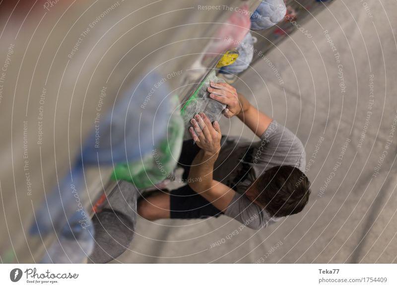 boulder halle #2 Mensch Hand Wand Sport Mauer Freizeit & Hobby Abenteuer Bouldern