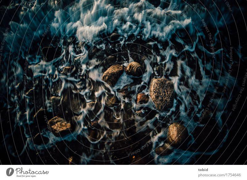 Küste Natur Wasser Bewegung Stein Wellen Urelemente Flüssigkeit Kieselsteine Kieselstrand