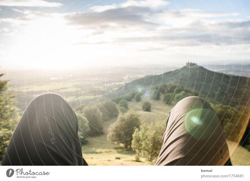 Quality time Mensch Natur Ferien & Urlaub & Reisen Sommer Baum Landschaft Erholung ruhig Ferne Umwelt Leben Lifestyle Freiheit Freizeit & Hobby Zufriedenheit