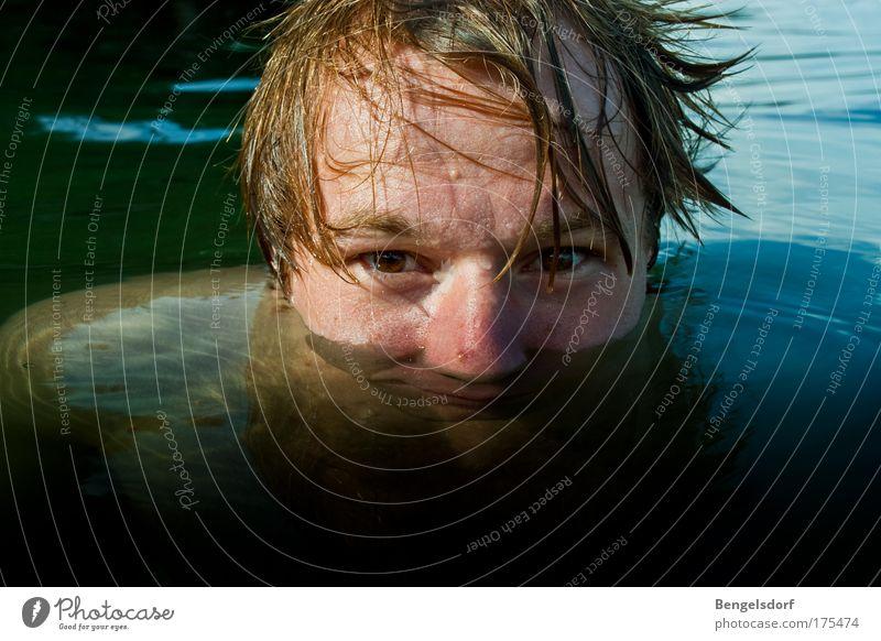 Schattenreich Gesicht Wellness Leben Wohlgefühl Erholung ruhig Schwimmen & Baden Freizeit & Hobby Ferien & Urlaub & Reisen Tourismus Ausflug Ferne Freiheit