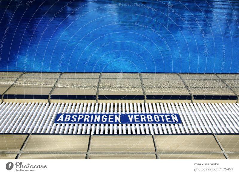 das blau Wasser Ferien & Urlaub & Reisen Sommer Freude ruhig Erholung Leben Sport Glück Zufriedenheit Wellen Schwimmen & Baden Klima Ausflug Tourismus