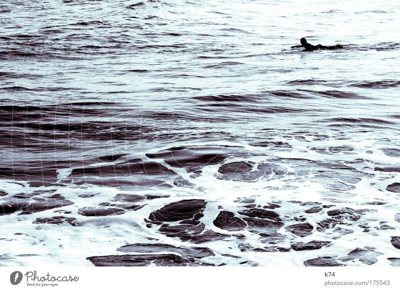paddle Wasser Meer Wellen Ostsee Surfen Atlantik