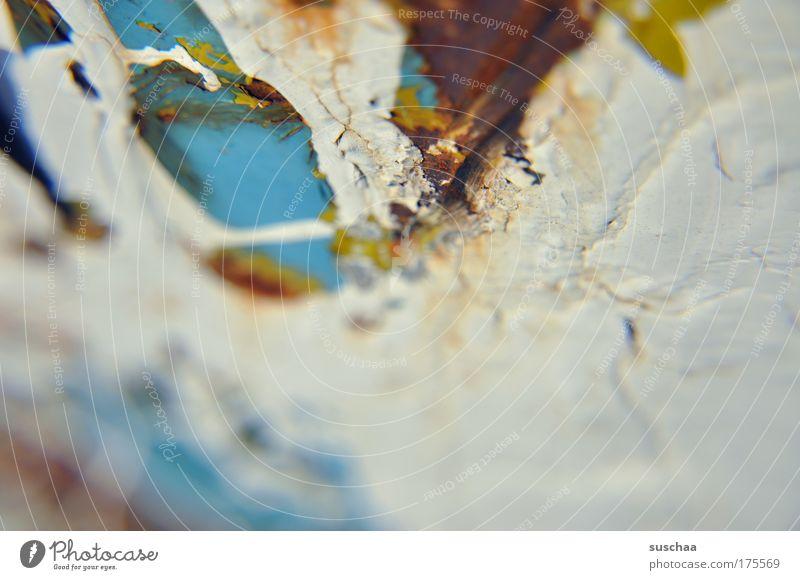 strukturschaden alt Farbe Metall Kunst Vergänglichkeit verfallen Verfall Maler Kunstwerk abstrakt eingetrocknet