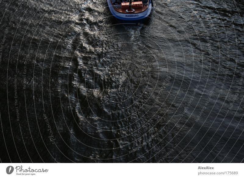 Junge, komm bald wieder Ferien & Urlaub & Reisen Wasser Erholung dunkel Tourismus frei Wellen Schriftzeichen Ausflug historisch fahren Sehnsucht entdecken