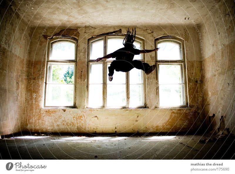 AUS SPAß AN DER FREUDE alt Freude dunkel Spielen Architektur springen Stil Freizeit & Hobby elegant fliegen maskulin ästhetisch außergewöhnlich Lifestyle