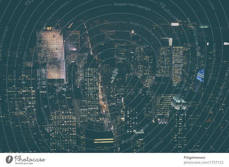 NY zwei Ferien & Urlaub & Reisen Ferne Architektur Gebäude Freiheit Tourismus Verkehr Ausflug Hochhaus USA Abenteuer Skyline Sehenswürdigkeit Amerika