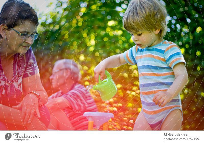 nächstenliebe | oma & opa Mensch Kind Natur alt Baum Freude Umwelt Liebe Senior feminin Junge Familie & Verwandtschaft Spielen Glück Garten Zusammensein