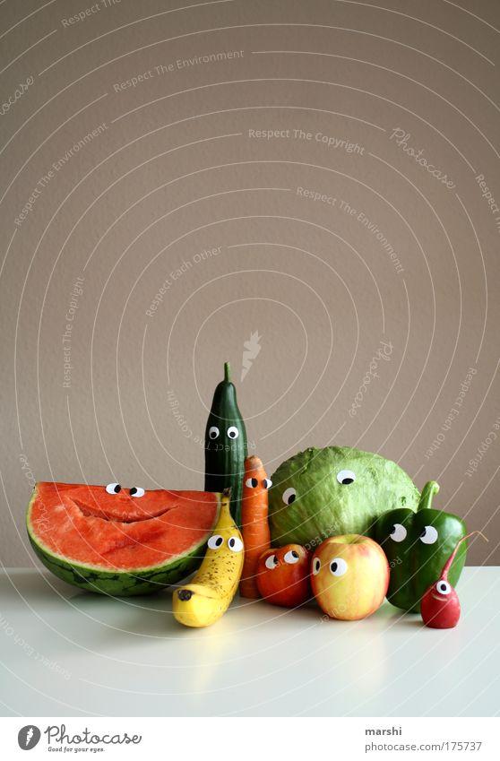 here we are again - cheeeeeeese Farbfoto Textfreiraum oben Lebensmittel Gemüse Frucht Apfel Ernährung Bioprodukte Vegetarische Ernährung Diät Häusliches Leben