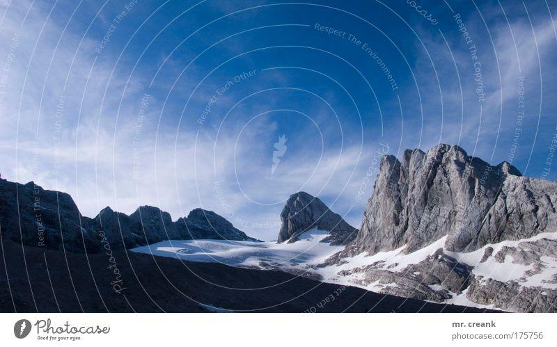 upward bound Natur Sonne Sommer Ferien & Urlaub & Reisen Ferne Schnee Freiheit Berge u. Gebirge Landschaft Umwelt Wetter Erde Ausflug groß Tourismus Urelemente