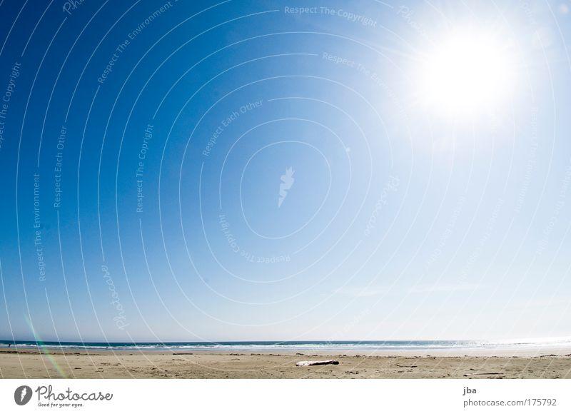 gen asien Himmel blau Ferien & Urlaub & Reisen Sonne Sommer Meer Freude Strand Ferne Erholung Freiheit Sand Küste Insel leuchten Schönes Wetter