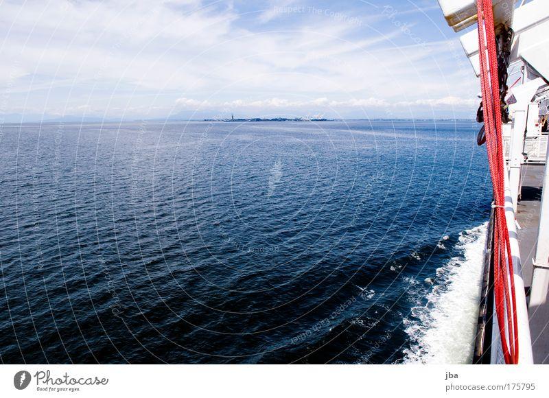 wo ist denn die schweiz? Himmel blau Wasser Ferien & Urlaub & Reisen Sommer Meer Erholung Ausflug Tourismus fahren Wasserfahrzeug Schifffahrt Kanada unterwegs
