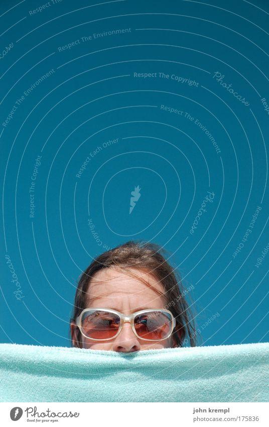 die rotzglocke von notre dame Mensch Jugendliche Sonne Meer grün blau Freude Strand Gesicht Ferien & Urlaub & Reisen Haare & Frisuren Küste Erwachsene Nase Brille Ausflug