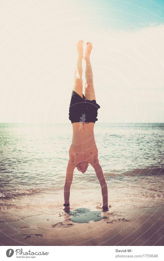 Kontrolle Leben ruhig Meditation Freizeit & Hobby Ferien & Urlaub & Reisen Tourismus Ausflug Abenteuer Ferne Freiheit Sommer Sommerurlaub Sonne Sonnenbad Strand