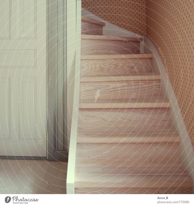 Schweden hat Stil! Design harmonisch Häusliches Leben Wohnung Innenarchitektur Tapete Raum Treppe Tür Holz Linie bescheiden Altbauwohnung Flur Farbfoto