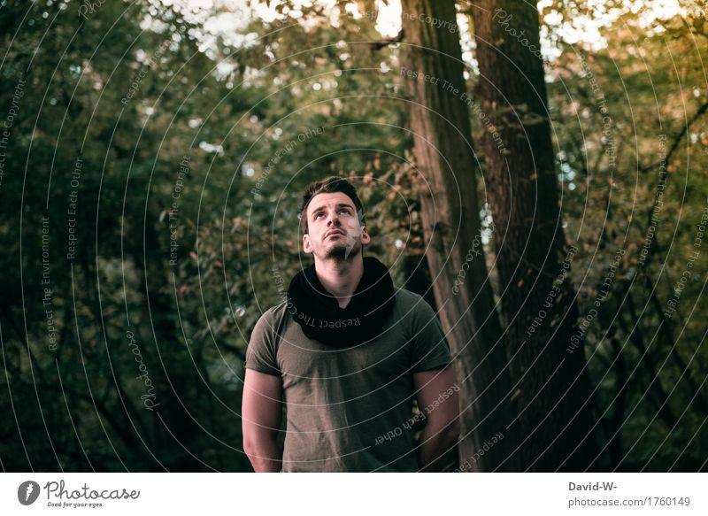 Glaube harmonisch Ferien & Urlaub & Reisen Ausflug Abenteuer Ferne Freiheit wandern Mensch maskulin Junger Mann Jugendliche Erwachsene Leben 1 18-30 Jahre