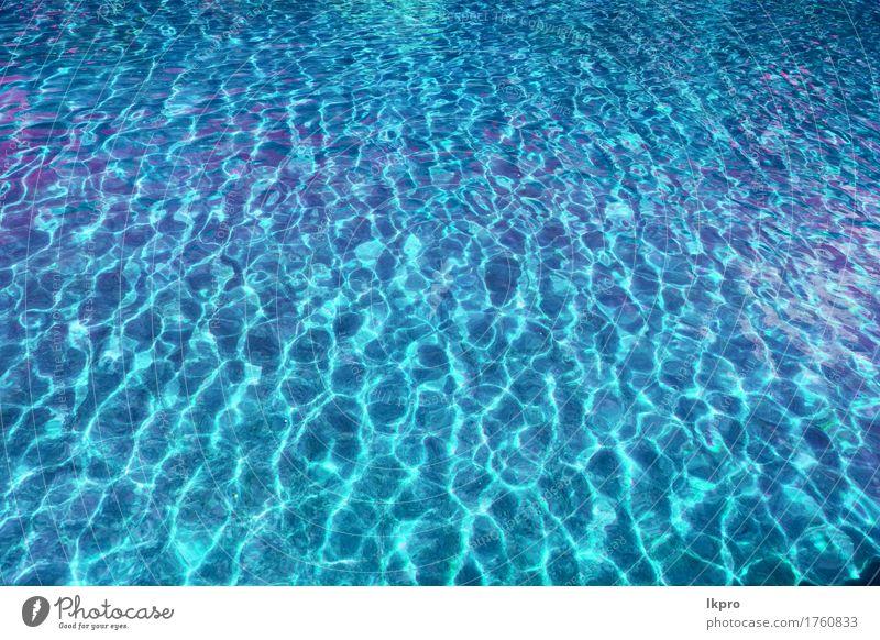 ein Wasser in einem natürlichen iranischen Pool Natur blau Farbe grün schön weiß Meer dunkel schwarz gelb Stil grau See Sand Linie