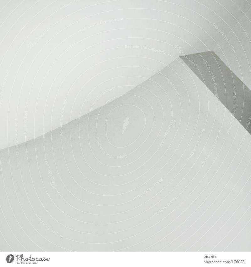 Cleanliness Schwarzweißfoto Innenaufnahme abstrakt Textfreiraum oben Textfreiraum Mitte Schatten elegant Stil Design Gebäude Architektur Linie ästhetisch