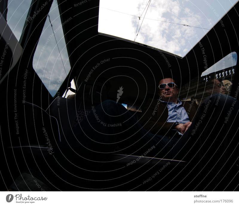 VIP Mensch Erwachsene Stil maskulin Erfolg Lifestyle Coolness trendy reich Bekanntheit PKW 30-45 Jahre Junger Mann Limousine