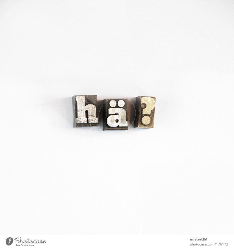 Bildungslücke. Freisteller Kommunizieren Buchstaben außergewöhnlich Sprachwissenschaften Kreativität Idee Fragen Wissen Stempel hilflos Experiment Makroaufnahme