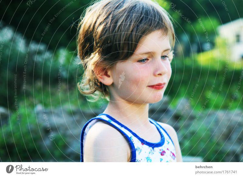 (my) pictures of you Mensch Kind Sommer schön Gesicht Auge Wärme Liebe Junge Spielen Familie & Verwandtschaft Kopf Haare & Frisuren wild träumen nachdenklich