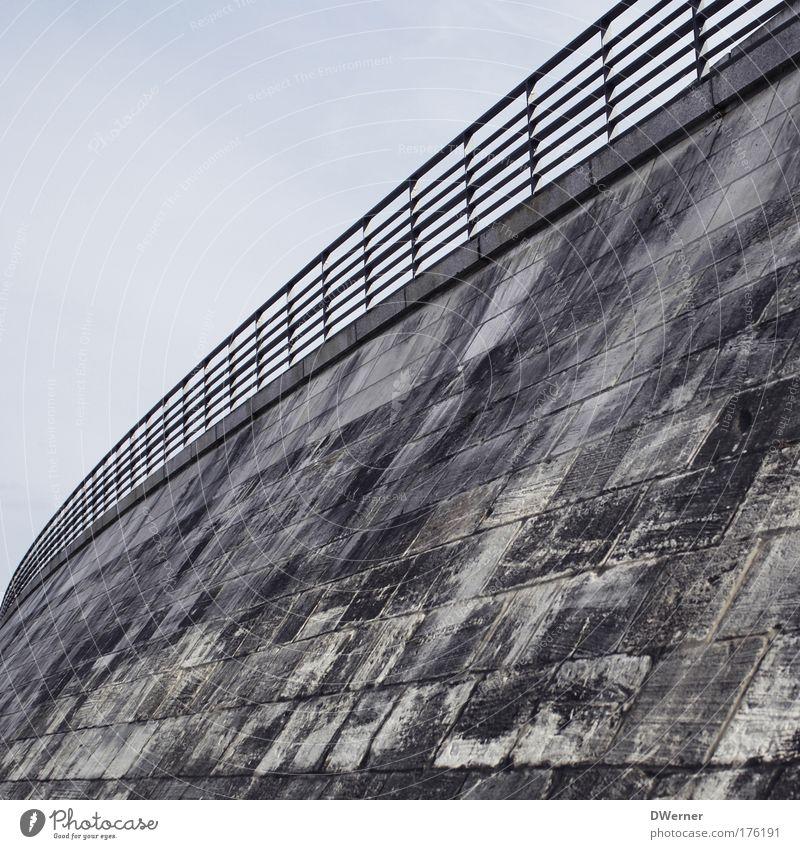 Staudamm Sommer Straße Wand Architektur Stil Mauer Stimmung Kunst Horizont elegant Beton Ausflug hoch Brücke gefährlich