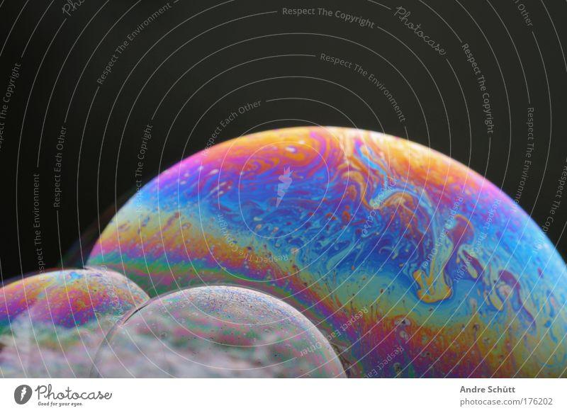 Planet Soap II schön grün blau rot schwarz gelb rosa gold violett