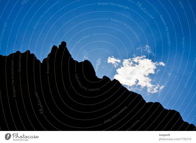 Wolke Himmel Natur weiß blau Sommer Ferien & Urlaub & Reisen Wolken schwarz Freiheit Berge u. Gebirge träumen Luft hell Kraft glänzend Ausflug