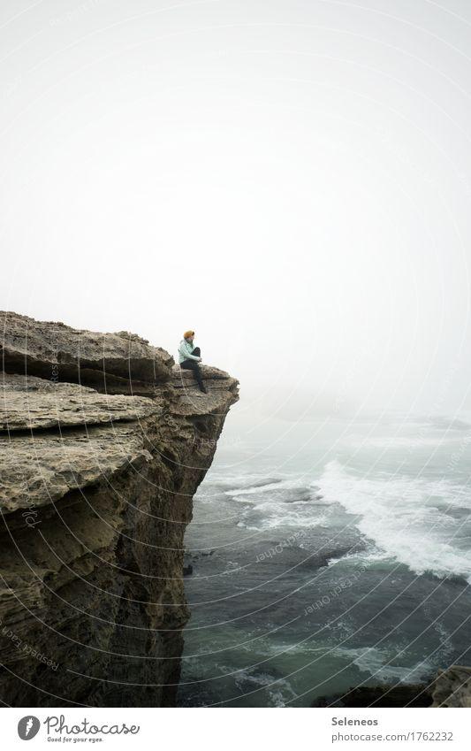 be still and listen. the world is singing Mensch Natur Ferien & Urlaub & Reisen Wasser Meer Erholung Einsamkeit ruhig Ferne Umwelt Küste Freiheit Stimmung