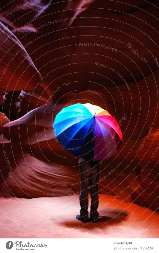 Colour Lover. Ferien & Urlaub & Reisen Einsamkeit Farbe Schutz Erholung Freiheit Glück Stil Kunst Zufriedenheit Freizeit & Hobby elegant Design Abenteuer