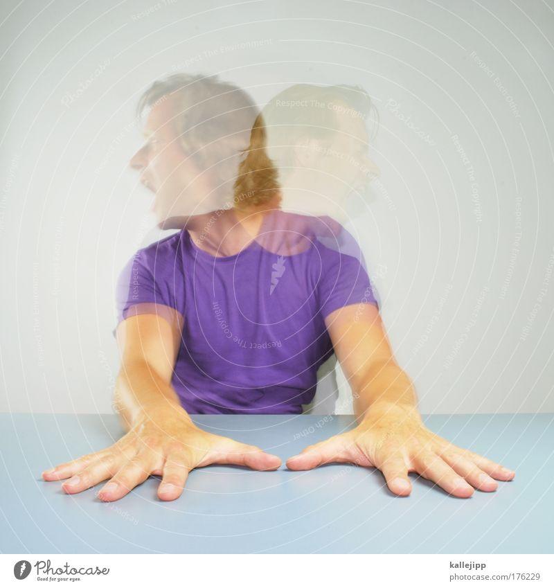 stereo total Mensch Mann Hand Erwachsene Gesicht Haare & Frisuren Kopf Arme Haut Mund maskulin Erfolg Nase Finger T-Shirt Ohr