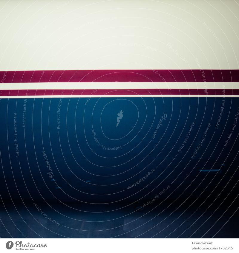 - Zeichen Linie Streifen dunkel blau rot weiß Design Farbe Werbung Linienstärke Hintergrundbild Grafik u. Illustration graphisch Grafische Darstellung Kratzer