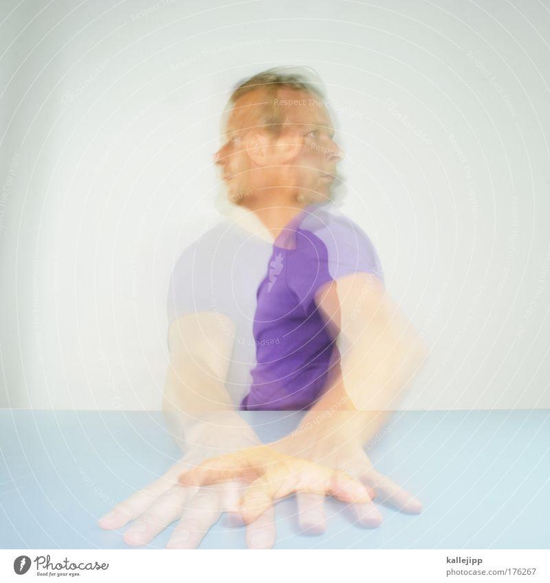 multitasking Mensch Mann Hand Erwachsene Gesicht Bewegung Haare & Frisuren Kopf hell Arbeit & Erwerbstätigkeit Arme Haut Mund maskulin Nase Finger