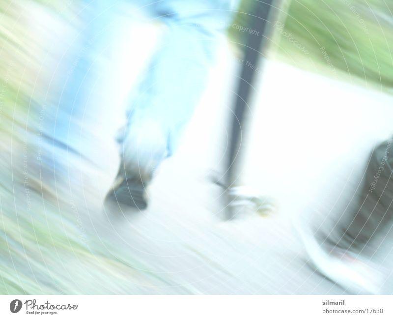 Let's go and have fun Freizeit & Hobby laufen Aktion Jeanshose Skateboarding