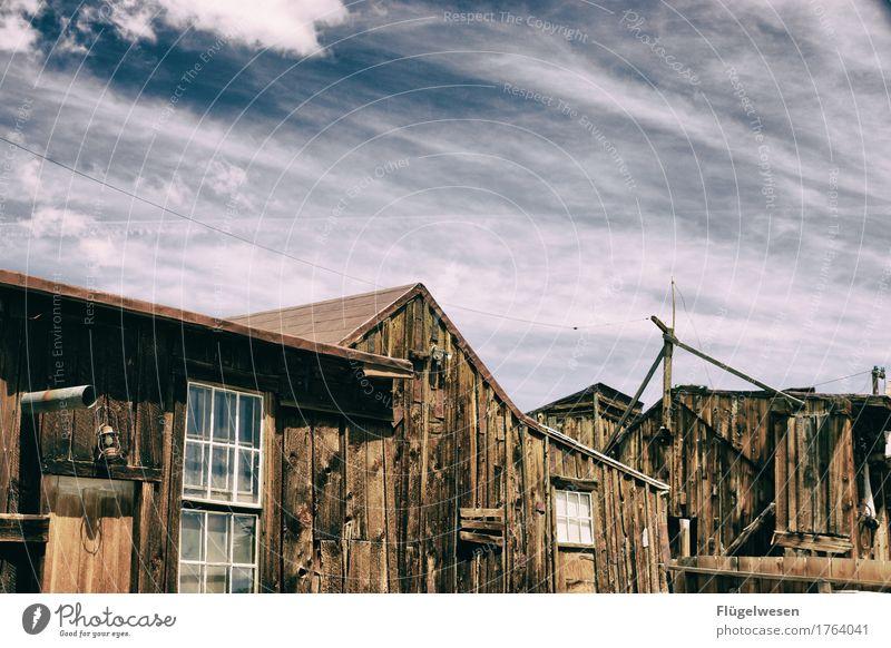 Wild Wild West [10] Ausflug Abenteuer Ferne retro Altstadt Altbau Wilder Westen Western Westernstadt Geisterhaus Geisterstadt USA Amerika Leerstand ausgestorben
