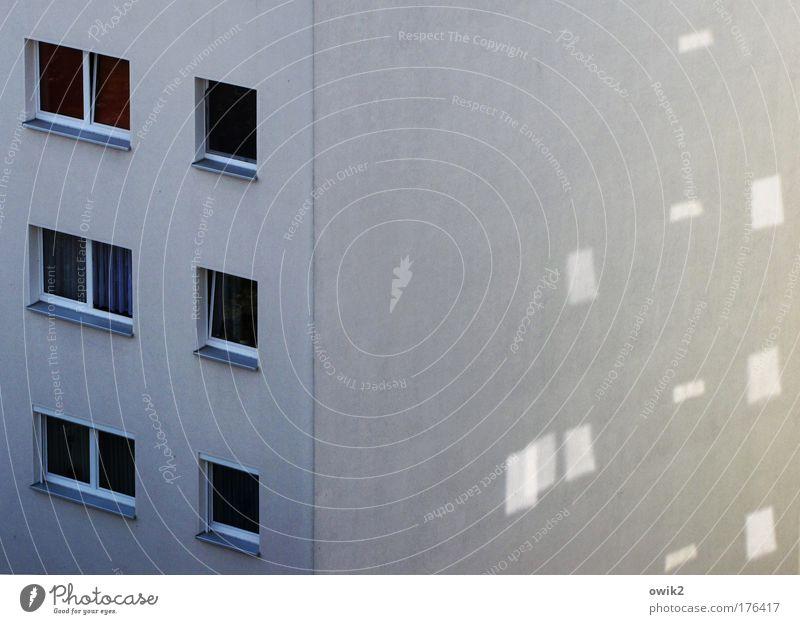 Städtische Lichtspiele Farbfoto Gedeckte Farben Außenaufnahme Detailaufnahme Muster Strukturen & Formen Menschenleer Textfreiraum oben Morgen
