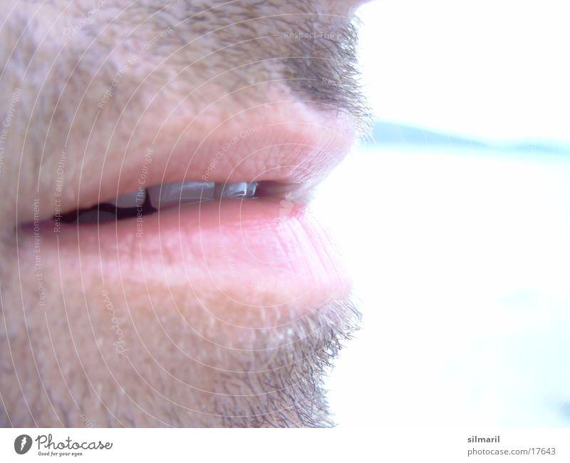 Küss mich Mann Ferien & Urlaub & Reisen schön Sonne Sommer Meer Strand Erholung Luft Freizeit & Hobby Mund Pause Wellness Zähne Lippen Küssen