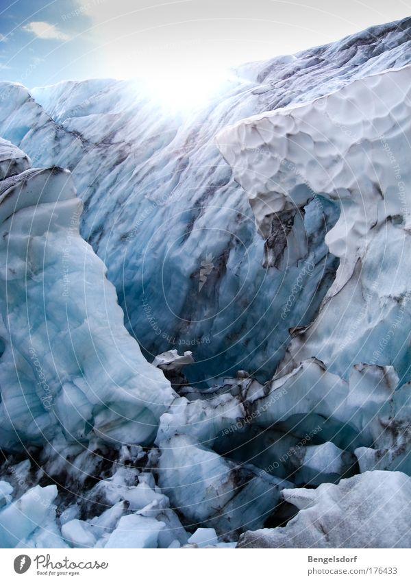 Die Reise zur Schneekönigin Ferien & Urlaub & Reisen Tourismus Ausflug Ferne Freiheit Expedition Winter Wasser Gletscher Eisberg Eiskristall Eiszeit ästhetisch