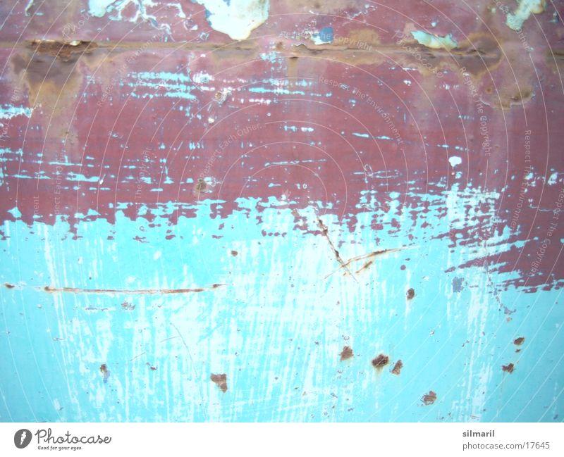 Patina türkis II Anstrich Renovieren Sanieren Altbau Umbauen heimwerken Heimwerker Schutzlack Rust Modernisierung Handwerk Detailaufnahme Rost Farbe alt