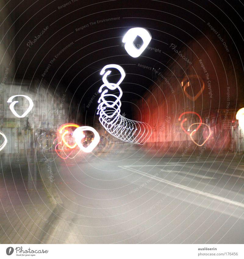 geflashed#1 Stadt Freude Straße Wand Gefühle Mauer Stimmung Industrie ästhetisch Straßenkreuzung Verkehrsschild Verkehrszeichen