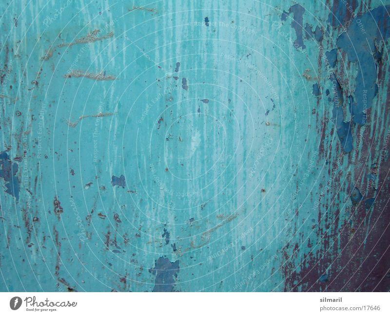 Patina türkis I alt Farbe verfallen Handwerk Rost Kreativität Renovieren Anstreicher Altbau Sanieren Anstrich Lack mehrfarbig Modernisierung