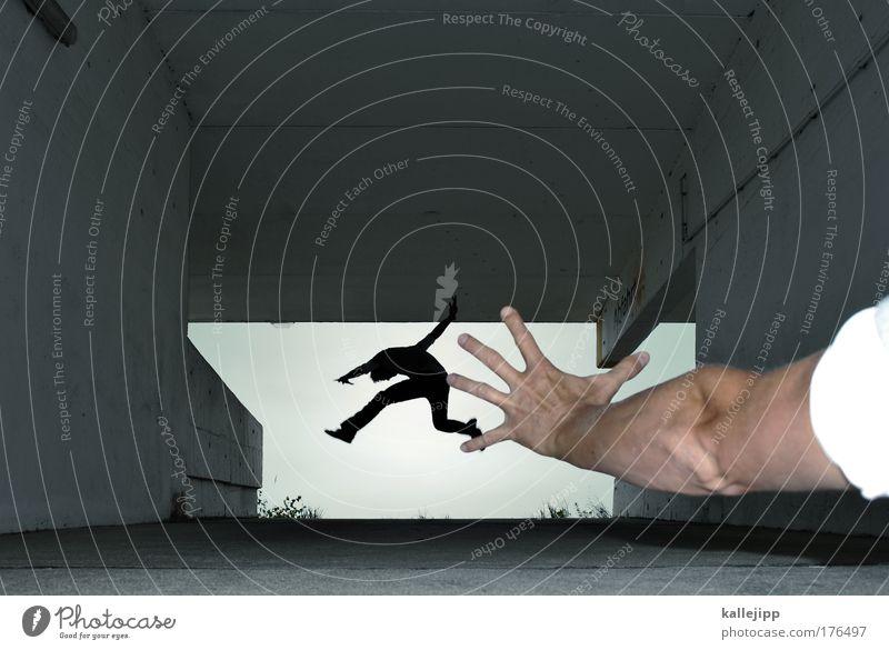 stimmenfang Mensch Mann Jugendliche Hand Erwachsene Spielen springen Beine Fuß 18-30 Jahre Rücken fliegen Arme maskulin Geschwindigkeit Finger